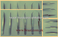 hot sale eyelash extension tweezers set with your own brand name