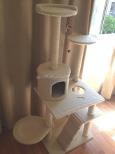 Kitty Cat Condo Tree with Round Beds