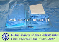 disposable/single-use sterile medical surgical instrument kit