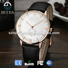 Classic Your Logo Custom Wrist Watches Two Hands Small Second