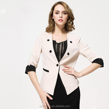 Authentic Autumn Of New type of women's clothing han edition cultivate one's morality joker 5 minutes of sleeve suit jacket