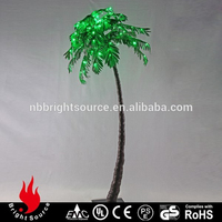top with Garden twinkle lighted palm tree lowes