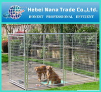 Made in China welded wire panel outdoor dog kennels and runs