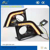 Factory high quality water proof fast selling 5W LED drl/dayime running light for Toyota corolla 2014