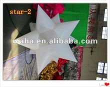 New Brand Party /event/wedding Decoration With Inflatable short horn star