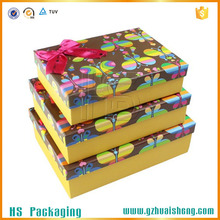 Trade assurance matt empty decorative paper gift boxes melbourne