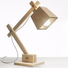 Modern Lovely Dog Wooden Study Bedside Reading Table lamp PLT8062
