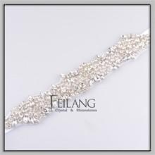Wedding Crystal Bridal Applique Wedding Applique Gatsby Style Headband