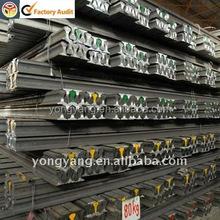 U71Mn Steel Rail Crane Rail QU80