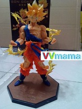 "Dragon Ball Z Super Saiyan Goku Son Gokou 6.8"" Japanese Anime cartoon 17 cm Boxed Model Collection Toy PVC Action Figure"