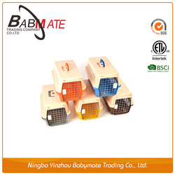 2015 Hot sale pet manual bolt plastic large dog cage,dog crate,pet carrier