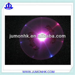Plastic led flashing frisbee