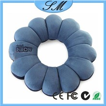 flower shape pillow inflatable body pillow for travel total pillow