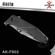High quality 7cr17+stainless steel titanium coating floating knife