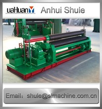 3 rolls small sheet roller bending machine screw thread rolling machine for sale
