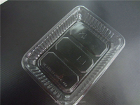 food grade clear plastic dry fruit tray PET disposable plastic dry fruit tray plastic tray all kinds of food