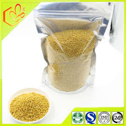 Packed in foil bag wall-unbroken fresh natural bulk lotus bee pollen for keep youth of wholesale bee pollen from Henan Baichun