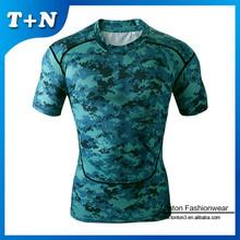 Custom printed tight neck t shirts