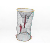 Excellent round folding fishing fish trap net