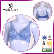 Factory Direct Sale Push Up Girl Nylon Breast Care Bra Big Size Young Ladies Sexy Bra
