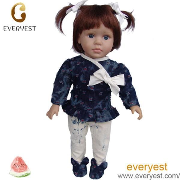 Profession funny baby toys pvc american girl doll lifelike baby dolls