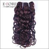 Hot Sale Number 2 Hair color Weave 7A Body Wave Hair Bundles Virgin Brazilian Hair Color #2 Weft Wholesale