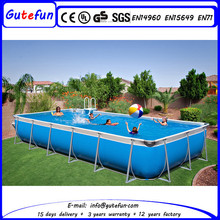any design accepted adult joyful metal swimming pool for sale for birthday parties