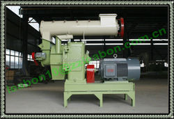 Easy Operation Wood Pellet Machine with Auto Lubrication System