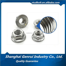 10mm High Quality DIN 6923 Grade 8.8 Hex Flange Nuts