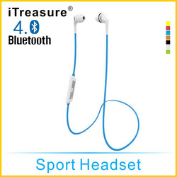 iTreasure Good Quality Best Cell Phone Headphones Newest bluetooth headset,headphone and earbuds