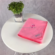 Modern design 100% polyester factory price pink kids blanket
