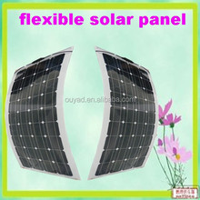 100W good quality Semi Flexible Solar Panel china Sunpower Cells China manufacturer best price