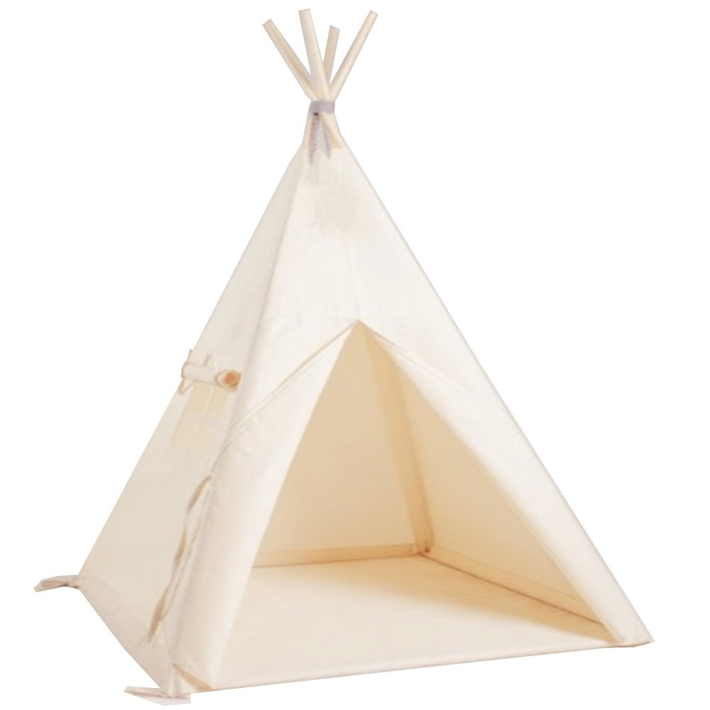 bunte leinwand kinder tipi zelt camping tipi zelt f r. Black Bedroom Furniture Sets. Home Design Ideas