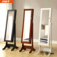 famous brand jewelry display cabinet with mirror for best gift