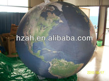 customized inflatable earth model for party decorations