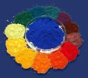 special pigment of colored asphalt