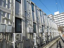 40ft container house new design container dormitory homes