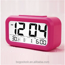 Electronic digital desk table alarm clock with multifunction