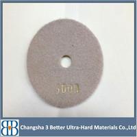 Resin &Diamond 3 Step Dry Polishing Pads for Marble