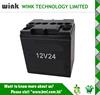 Wholesale ABS 12v 24ah oval Backup Battery Case for UPS