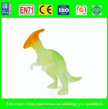 custom making vinyl toys, oem&odm vinyl toys, diy movable glow in the dark dinasour