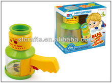 magnifying bug catcher viewer toys,Plastic magnifying Bug viewer toys,Bug explorer kit,insect catch set in Bucket
