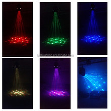 Head moving music activated dj light music activated led disco lights