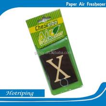 Advertising promotional logo printed hotel room air freshener