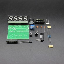 Trade Assurance Gold Supplier C51 4 Bits Electronic Clock Electronic Production Suite DIY Kits