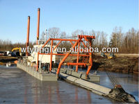 Hydraulic cutter suction dredger export to Nigeria,India,Bengal