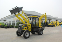 chinese cheap backhoe loader new small mini cheapest with front loader rear backhoe price for sale