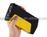 Hot Products Emergency Portable Car Battery Jump Starter with double USB OUTPUT for Diesel Car with dual hammer pump