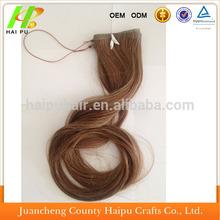 precio de venta al por mayor de rusia cabello humano remy del pelo halo de extensión