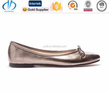 shiny ballet dress shoe